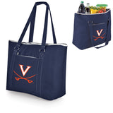 Virginia Cavaliers 'Tahoe' XL Cooler Tote-Navy Digital Print