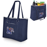 Memphis Tigers 'Tahoe' XL Cooler Tote-Navy Digital Print