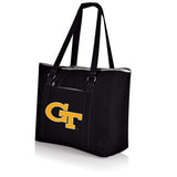 Georgia Tech Yellow Jackets 'Tahoe' XL Cooler Tote-Black Digital Print