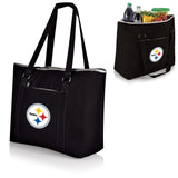 Pittsburgh Steelers 'Tahoe' XL Cooler Tote-Black Digital Print