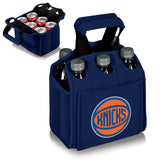 New York Knicks 'Six Pack' Beverage Carrier-Navy Digital Print