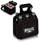 Philadelphia Eagles 'Six Pack' Beverage Carrier-Black Digital Print