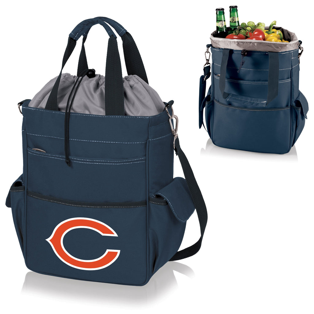 Chicago Bears 'Activo' Cooler Tote-Navy Digital Print