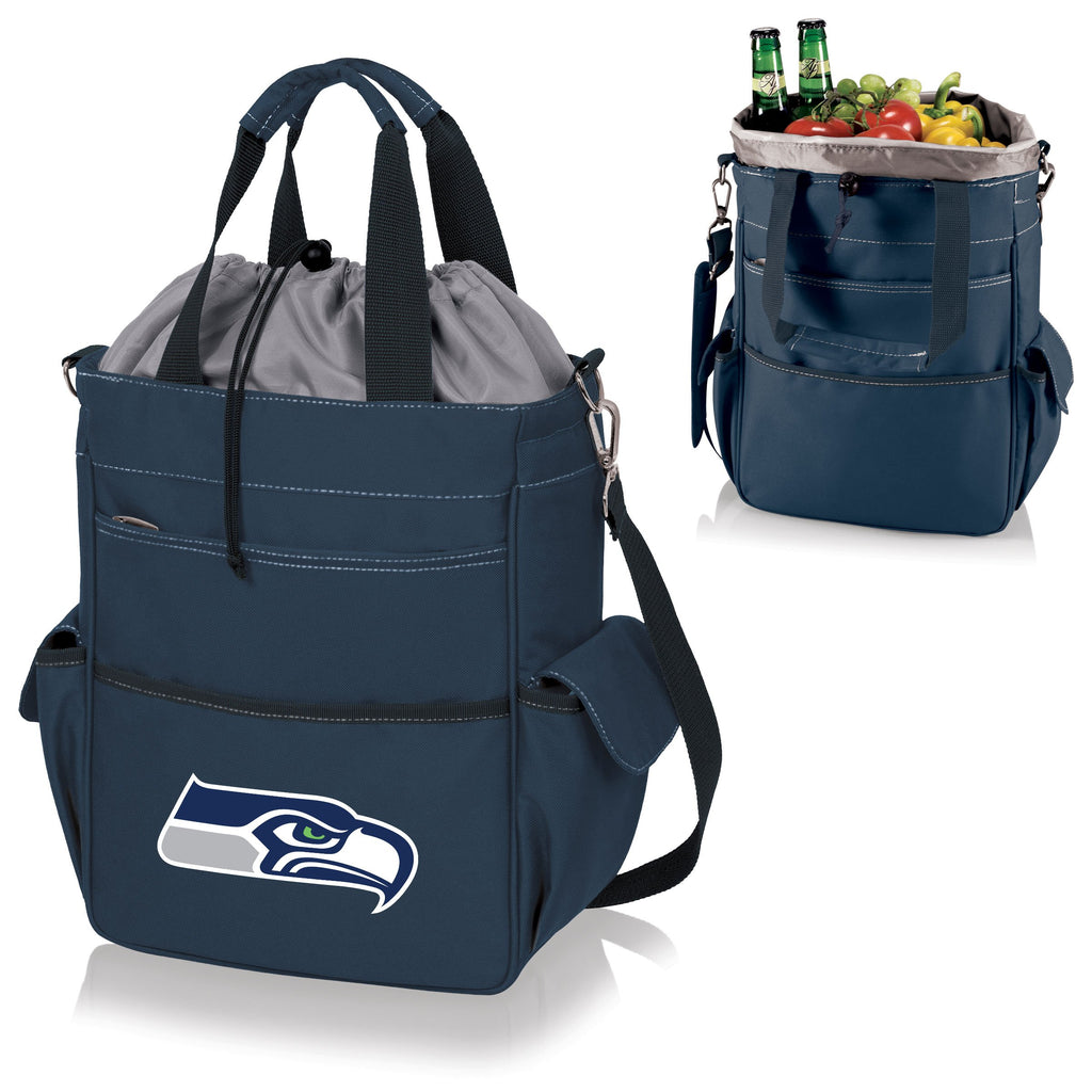 Seattle Seahawks 'Activo' Cooler Tote-Navy Digital Print