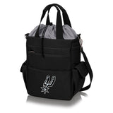 San Antonio Spurs 'Activo' Cooler Tote-Black Digital Print