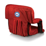 Philadelphia 76ers 'Ventura' Reclining Stadium Seat-Red Digital Print