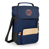New York Knicks 'Duet' Wine & Cheese Tote-Navy Digital Print