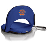 New York Knicks 'Oniva' Portable Reclining Seat-Navy Digital Print