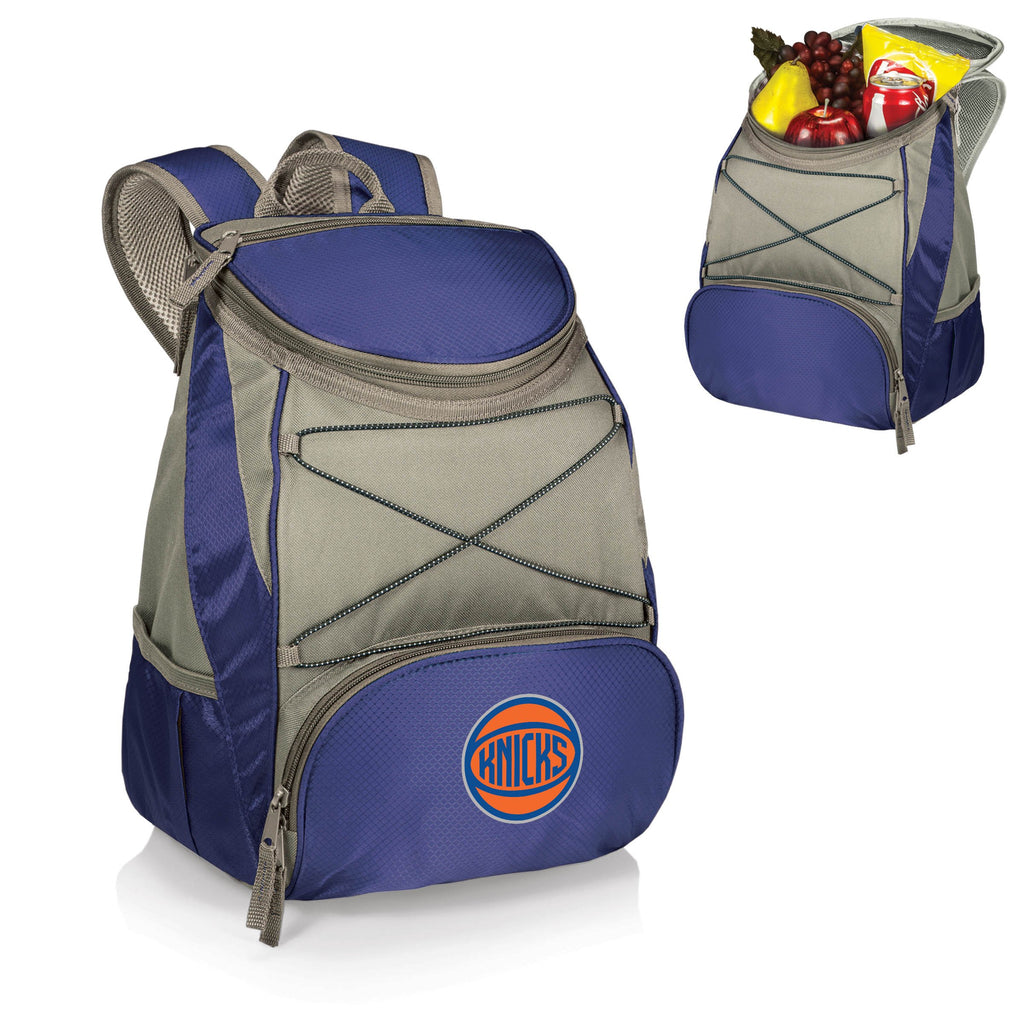 New York Knicks 'PTX' Cooler Backpack-Navy Digital Print