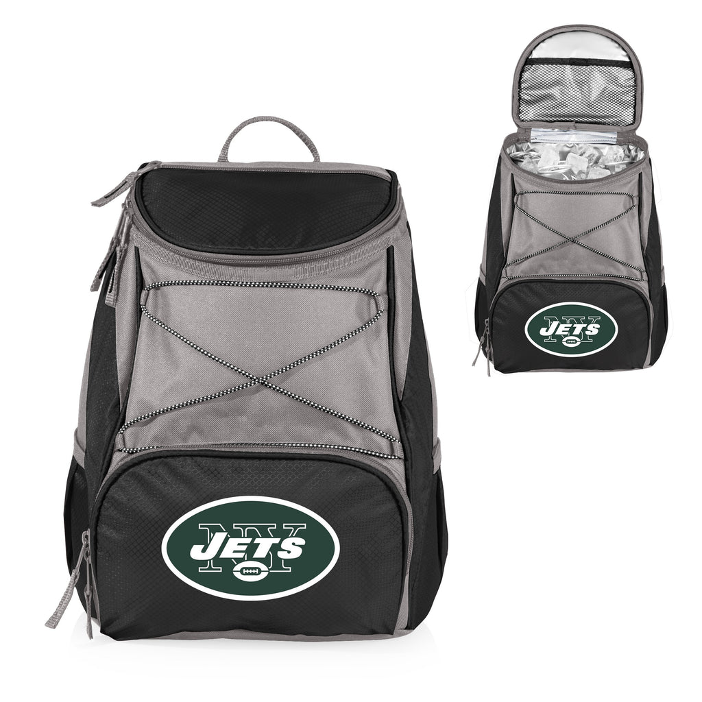 New York Jets 'PTX' Cooler Backpack-Black Digital Print