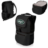 New York Jets 'Zuma' Cooler Backpack-Black Digital Print