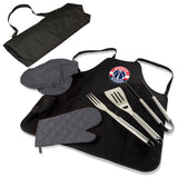 Washington Wizards BBQ Apron Tote Pro with Tools-Black Digital Print