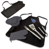 Tennessee Titans BBQ Apron Tote Pro with Tools-Black Digital Print