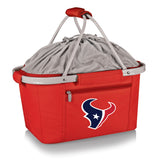 Houston Texans 'Metro Basket' Collapsible Cooler Tote-Red Digital Print