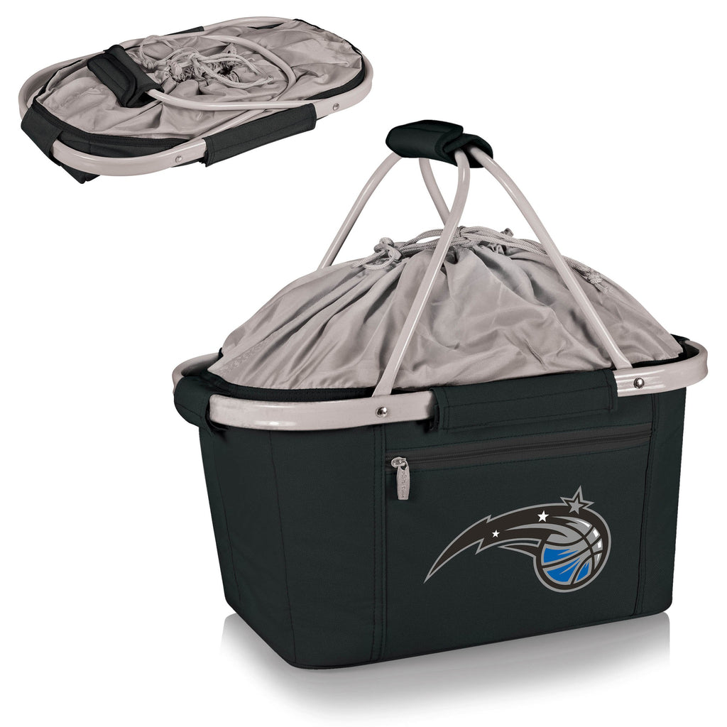 Orlando Magic 'Metro Basket' Collapsible Cooler Tote-Black Digital Print