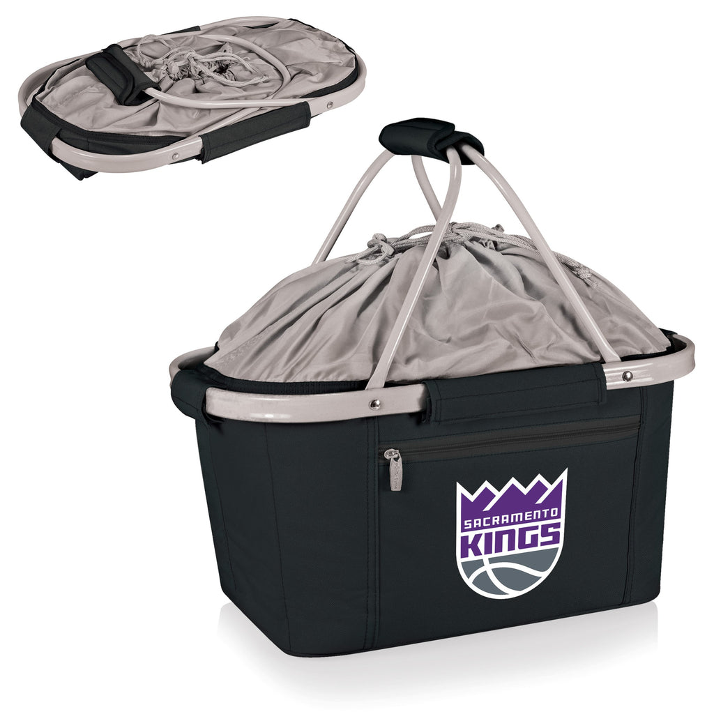 Sacramento Kings 'Metro Basket' Collapsible Cooler Tote-Black Digital Print