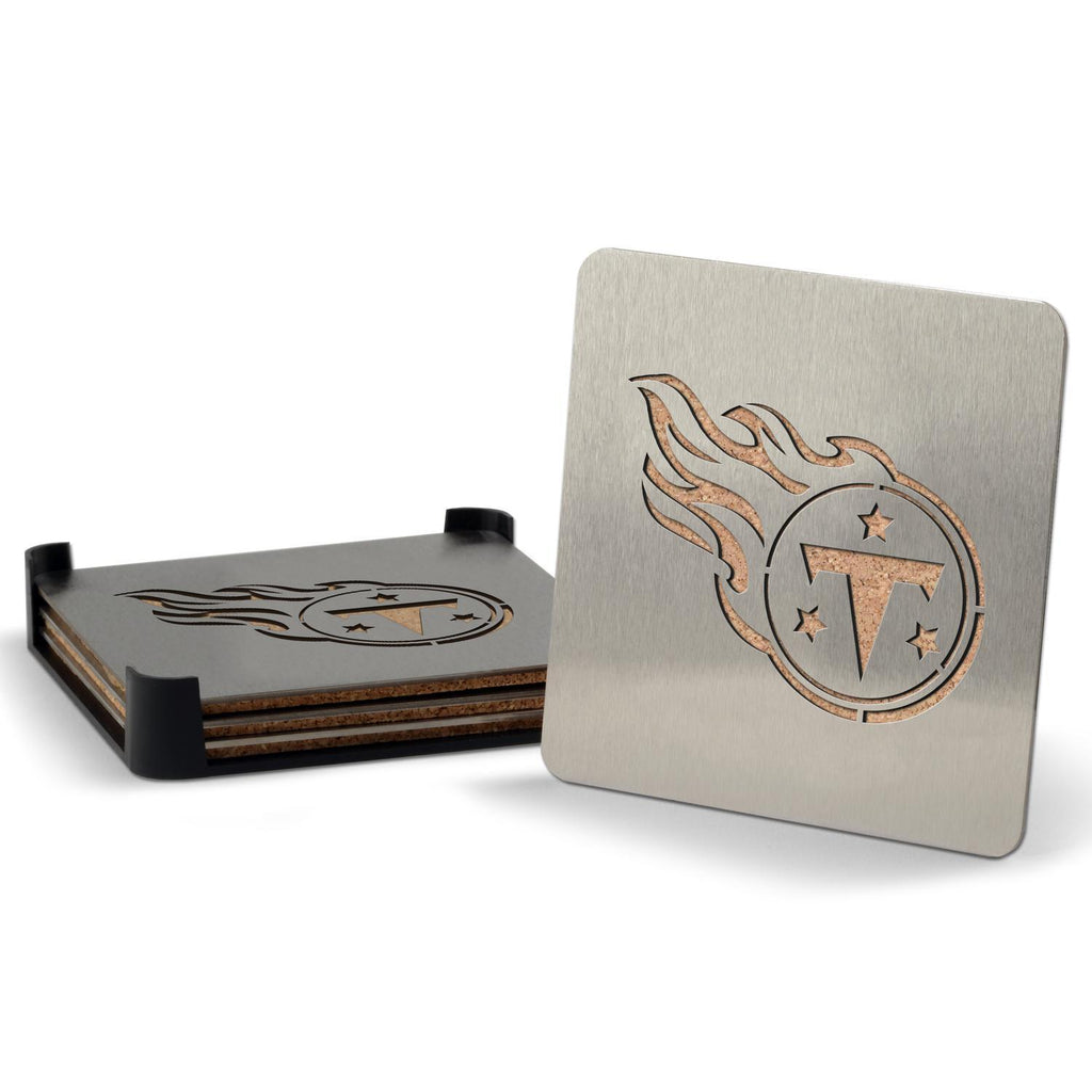 Tennessee Titans 4-piece Boaster Drink Coaster