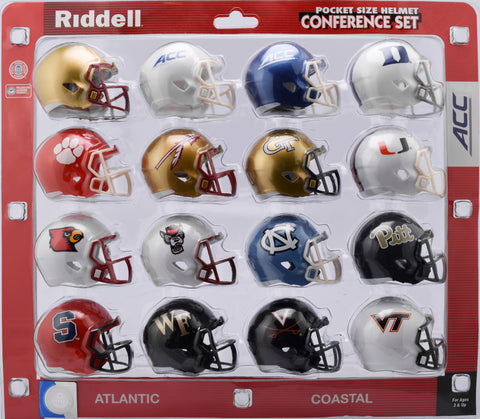 ACC Conference Set Riddell Pocket Pro Speed Style 2018