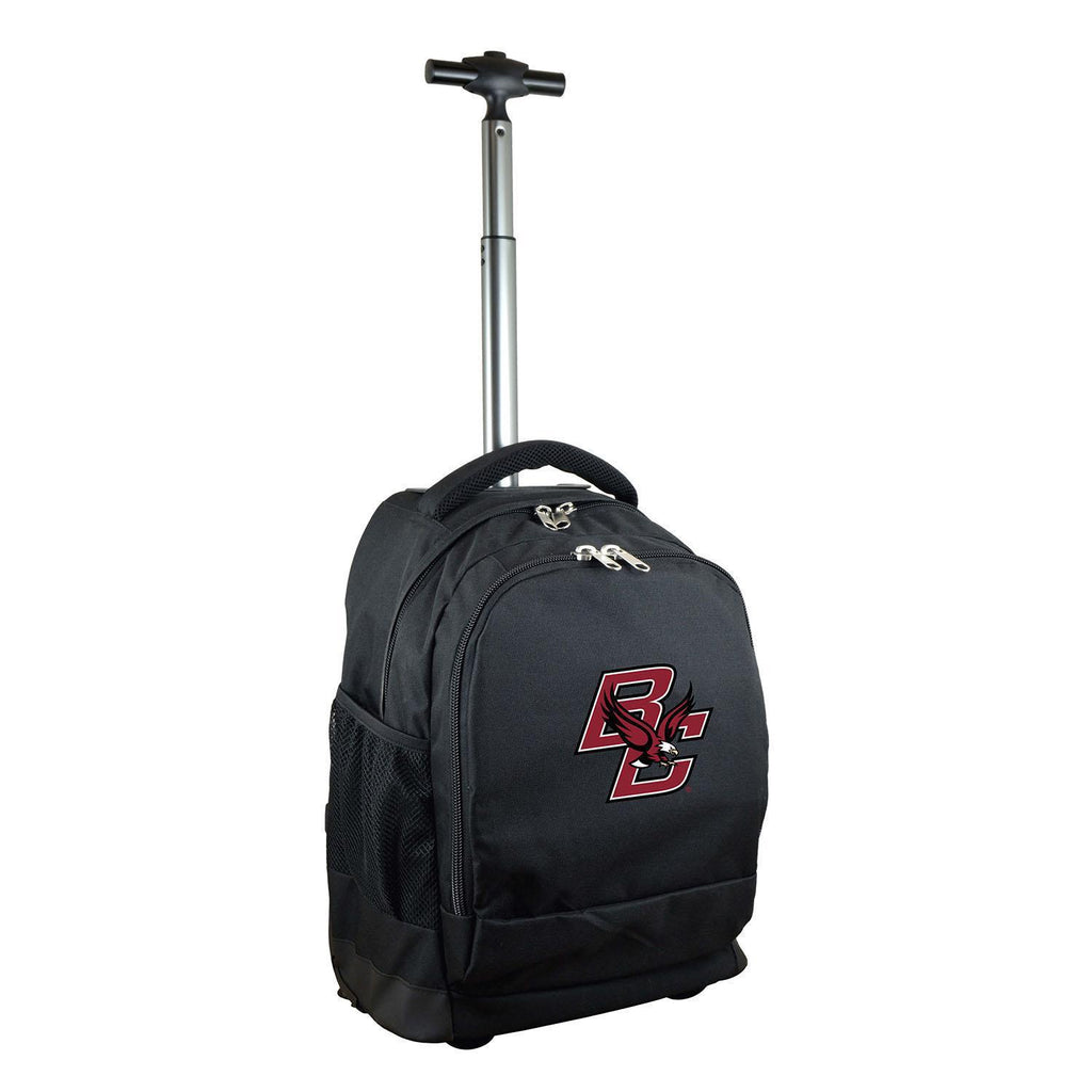 Boston College Eagles Wheeled Premium Backpack