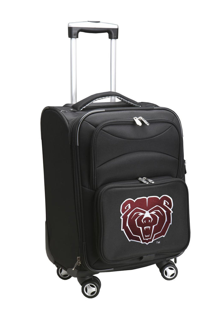Missouri State University Bears Luggage Carry-On 21in Spinner Softside Nylon-BLACK