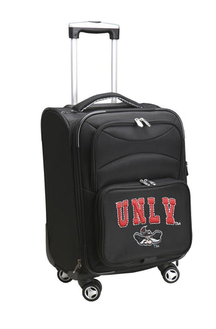 UNLV Rebels Luggage Carry-On 21in Spinner Softside Nylon-BLACK