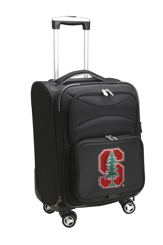 Stanford Cardinal Luggage Carry-On 21in Spinner Softside Nylon-BLACK