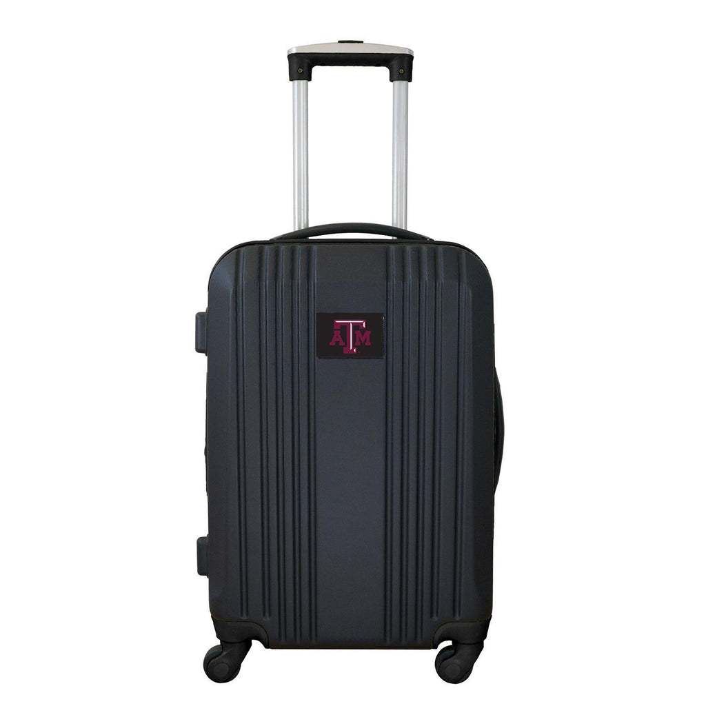 Texas A&M Aggies Luggage Carry-on 21in Hardcase two-tone Spinner 100% ABS-BLACK