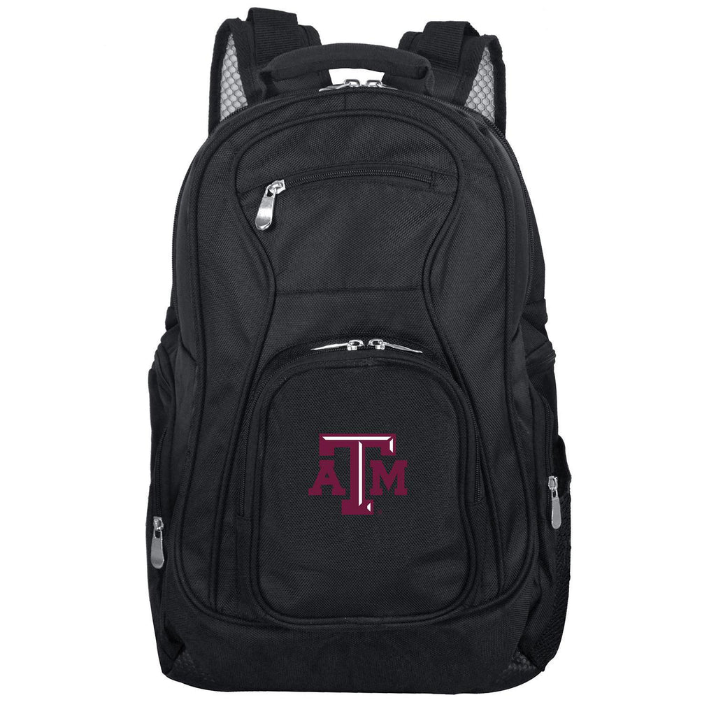 Texas A&M Aggies Backpack Laptop-BLACK
