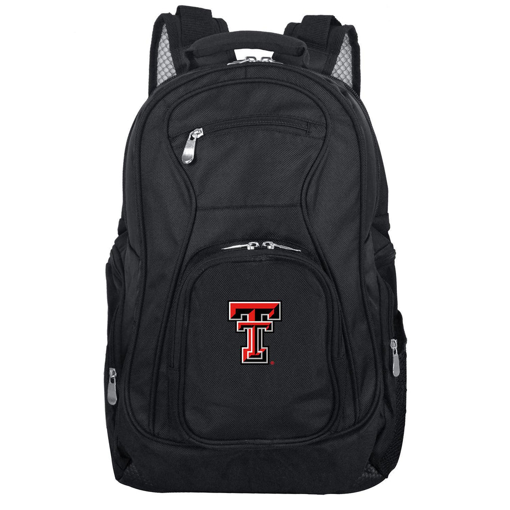 Texas Tech Red Raiders Backpack Laptop-BLACK