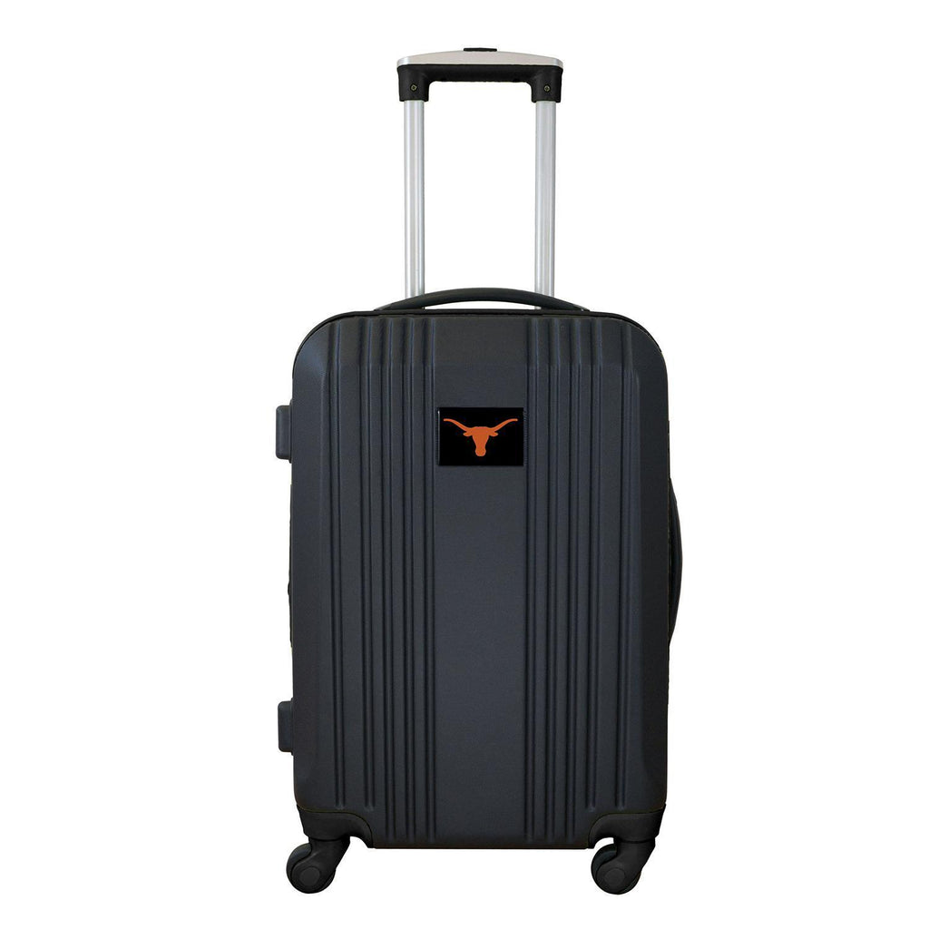 Texas Longhorns Luggage Carry-on 21in Hardcase two-tone Spinner 100% ABS-BLACK