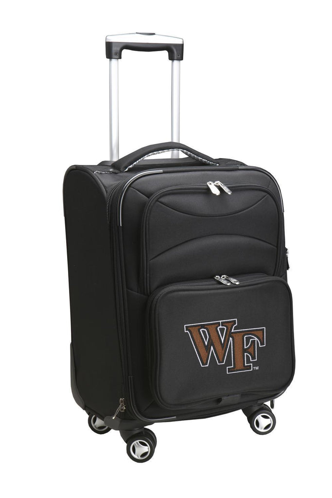 Wake Forest Demon Deacons Luggage Carry-On 21in Spinner Softside Nylon-BLACK