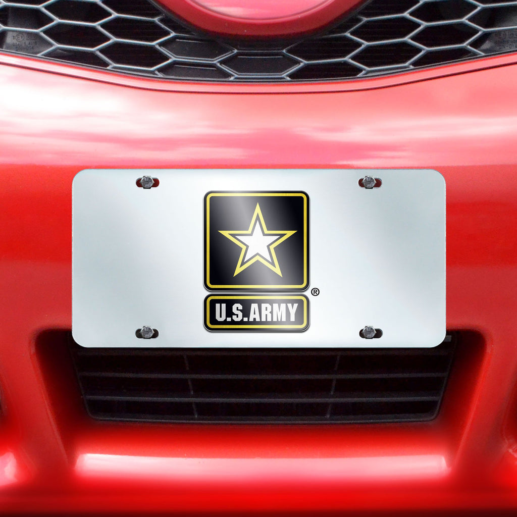 "Army License Plate Inlaid 6""x12"""