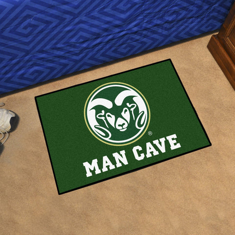"Colorado State Man Cave Starter Rug 19""x30"""