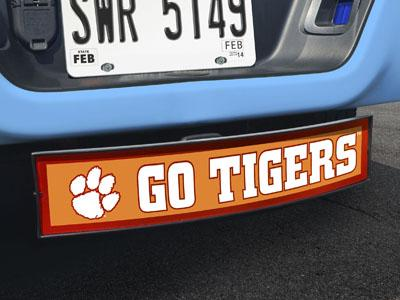 "Clemson Go Tigers Light Up Hitch Cover 21""x9.5""x4"""