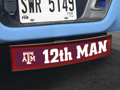 "Texas A&M 12th Man Light Up Hitch Cover 21""x9.5""x4"""