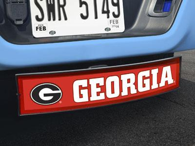 "Georgia Light Up Hitch Cover 21""x9.5""x4"""