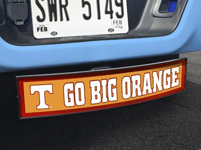 "Tennessee Go Big Orange Light Up Hitch Cover 21""x9.5""x4"""