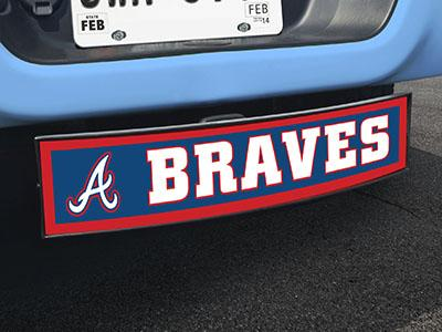 "MLB - Atlanta Braves Light Up Hitch Cover 21""x9.5""x4"""