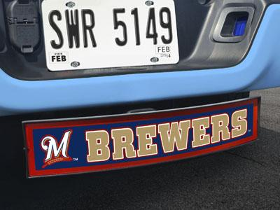 "MLB - Milwaukee Brewers Light Up Hitch Cover 21""x9.5""x4"""
