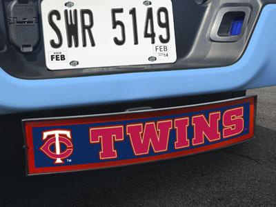 "MLB - Minnesota Twins Light Up Hitch Cover 21""x9.5""x4"""