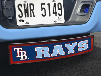 "MLB - Tampa Bay Rays Light Up Hitch Cover 21""x9.5""x4"""