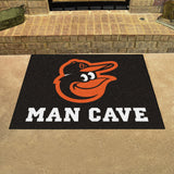"MLB - Balitmore Orioles Man Cave All-Star Mat 33.75""x42.5"""