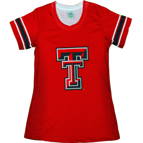 Collegiate - Texas Tech Red Raiders Jersey Shirt