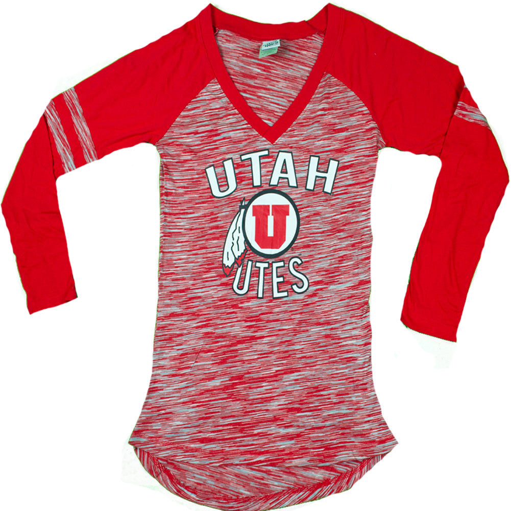 Collegiate - Utah Utes Long Sleeve Women's Shirt