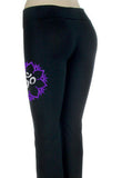 Ohm Mandala Glitter Infused Yoga Pants