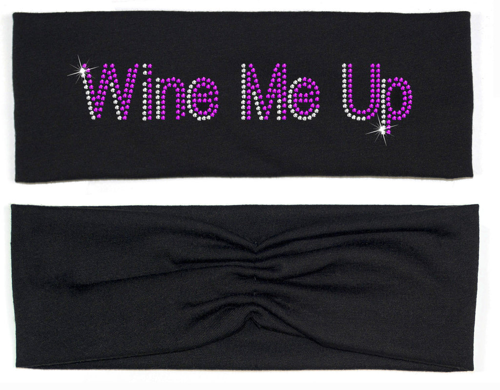 Headband - Wine Me Up Headband