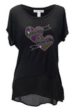 Minnesota FB Hearts Women's Top