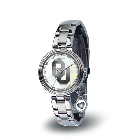 Oklahoma Sooners Charm Watch