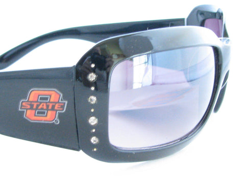 WSunglassses - Oklahoma State Cowboys NCAA Women's Black Fashion Sunglasses