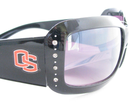 WSunglassses - Oregon State Beavers NCAA Women's Black Fashion Sunglasses